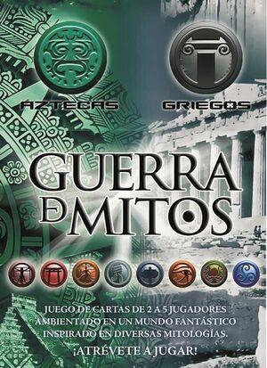 GUERRA DE MITOS II JCC - MAZO GRIEGOS Y AZTECAS