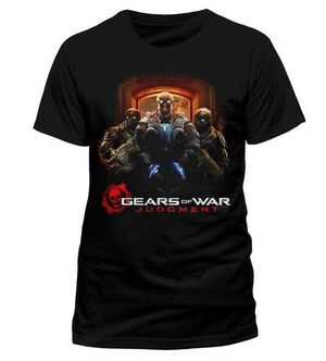 GEARS OF WAR JUDGEMENT CAMISETA POSTER ART XL