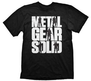 METAL GEAR SOLID CAMISETA LOGO XL