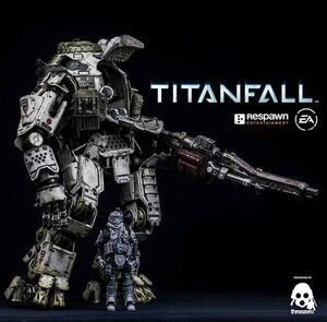 TITANFALL FIGURA 50 CM ATLAS THREEAZERO