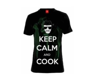 BREAKING BAD CAMISETA KEEP CALM AND COOK T-L
