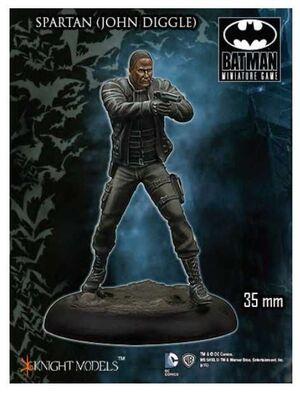 BATMAN MINIATURE GAME: SPARTAN - JOHN DIGGLE (KNIGHT MODELS)