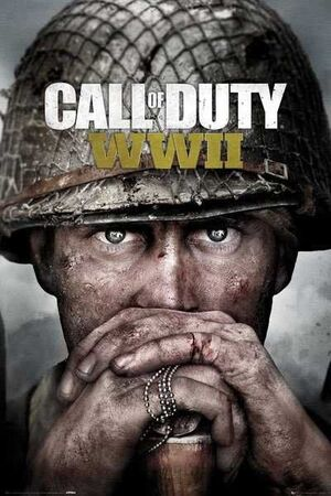 POSTER CALL OF DUTY WWII PRAY