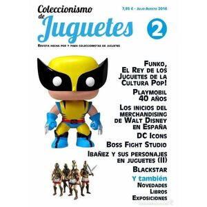 COLECCIONISMO Y JUGUETES #02 (JULIO-AGOSTO 2016) [REVISTA]