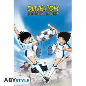 POSTER OLIVER Y TOM DOUBLE SHOOT 52 X 38 CM