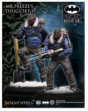 BATMAN MINIATURE GAME: MR. FREEZE THUG SET I