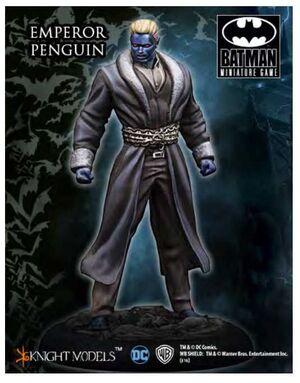 BATMAN MINIATURE GAME: EMPEROR PENGUIN