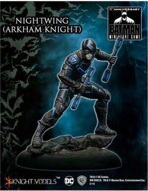 BATMAN MINIATURE GAME: NIGHTWING (ARKHAM KNIGHT)