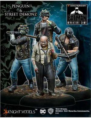 BATMAN MINIATURE GAME: PENGUIN & STREET DEMONZ