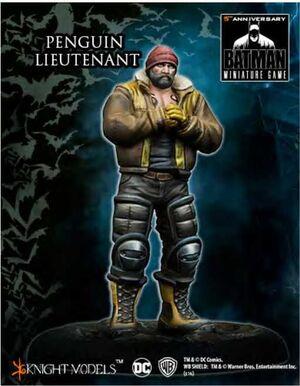 BATMAN MINIATURE GAME: PENGUIN LIEUTENANT