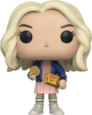 STRANGER THINGS POP VINYL FIG 9CM ELEVEN WHIT EGGOS CHASE EDITION