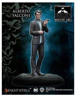 BATMAN MINIATURE GAME: ALBERTO FALCONE