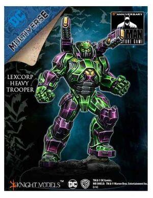 BATMAN MINIATURE GAME: LEXCORP HEAVY TROOPER