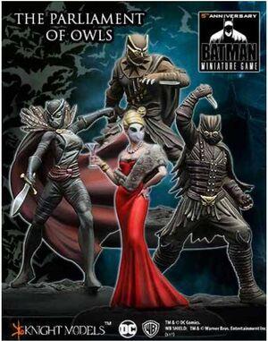BATMAN MINIATURE GAME: THE COURT OF OWLS CREW III