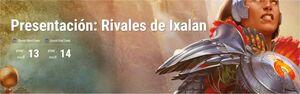 *TORNEO MAGIC PRESENTACION RIVALES DE IXALAN 13/01/18