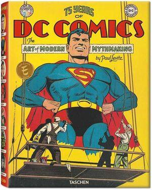 75 YEARS OF DC COMICS - FIRMADO POR PAUL LEVITZ