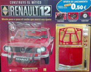 COLECCIONABLE RENAULT 12: CONSTRUYE TU MAQUETA #001