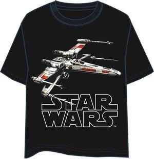 STAR WARS CAMISETA NEGRA CHICO X-WING T-XL