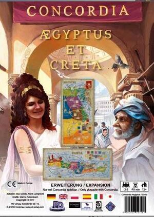CONCORDIA EXPANSION CRETA Y AEGYPTUS