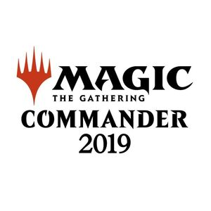 MAGIC- COMMANDER 2019 (INGLES)