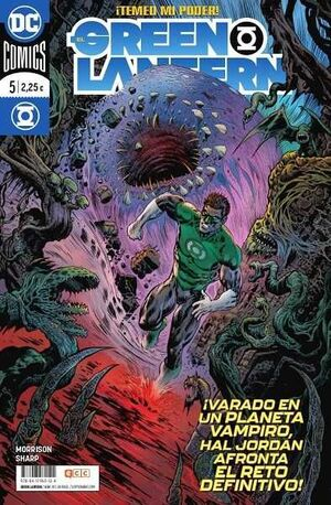 EL GREEN LANTERN #087 / #005. TEMED MI PODER! (GRANT MORRISON)