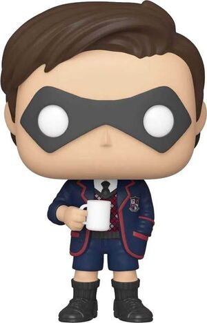 THE UMBRELLA ACADEMY FIG 9CM POP NUMBER FIVE - CHASE