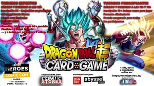 TORNEO DRAGON BALL SUPER TCG HEROES COMIC CON MADRID - PRINCIPIANTES