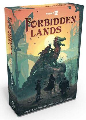 FORBIDDEN LANDS JDR NIVEL ORCO