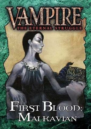 VAMPIRE THE ETERNAL STRUGGLE FIRST BLOOD: MALKAVIAN - CASTELLANO