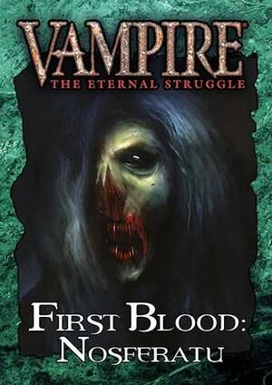 VAMPIRE THE ETERNAL STRUGGLE FIRST BLOOD: NOSFERATU - CASTELLANO