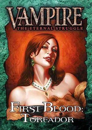 VAMPIRE THE ETERNAL STRUGGLE FIRST BLOOD: TOREADOR - CASTELLANO