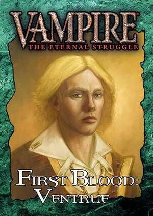 VAMPIRE THE ETERNAL STRUGGLE FIRST BLOOD: VENTRUE - CASTELLANO