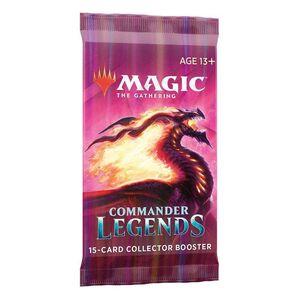 MAGIC - COMMANDER LEGENDS SOBRE COLLECTOR INGLES