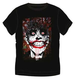 JOKER CAMISETA CARA GRAFFITI XXL