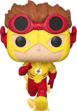 YOUNG JUSTICE FIG 9CM POP KID FLASH ED. ESPECIAL