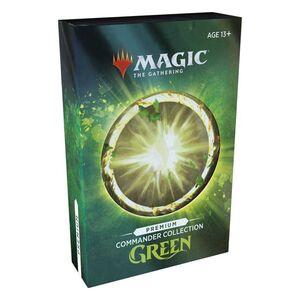 MAGIC - COMMANDER COLLECTION: GREEN - PREMIUM