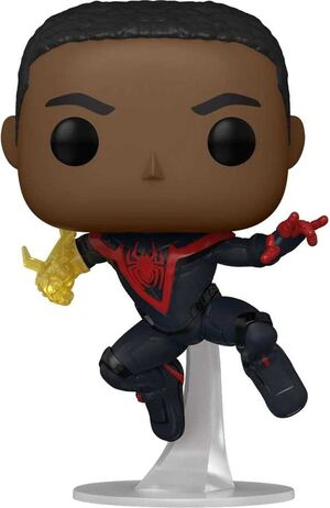 SPIDERMAN FIG 9CM POP MILES MORALES CLASSIC SUIT - CHASE