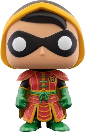 DC IMPERIAL PALACE POP! HEROES VINYL FIGURA ROBIN 9 CM - CHASE