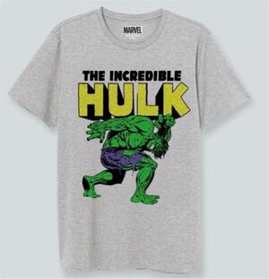 HULK CAMISETA GRIS THE INCREDIBLE HULK S