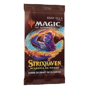 MAGIC - STRIXHAVEN SOBRES DE DRAFT CASTELLANO