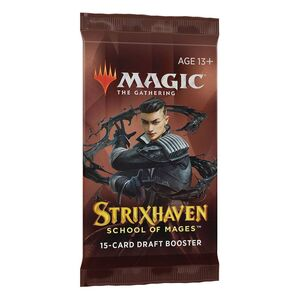 MAGIC - STRIXHAVEN SOBRES DE DRAFT INGLES