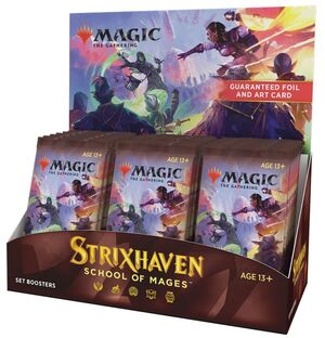 MAGIC - STRIXHAVEN SOBRES DE EXPASION (SET BOOSTERS - INGLES)