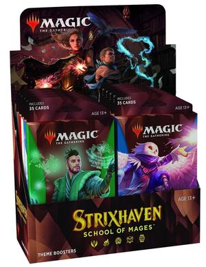 MAGIC - STRIXHAVEN SOBRE TEMÁTICO INGLÉS