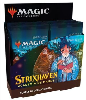 MAGIC - STRIXHAVEN SOBRE DE COLECCIONISTA CASTELLANO