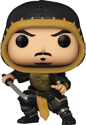 MORTAL KOMBAT MOVIE POP! MOVIES VINYL FIGURA SCORPION 9 CM - CHASE