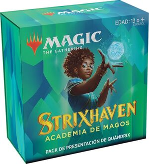 MAGIC - STRIXHAVEN PACK DE PRESENTACIÓN QUÁNDRIX + 3 BOOSTER