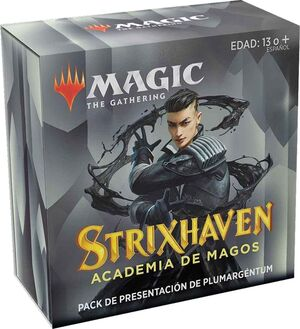 MAGIC - STRIXHAVEN PACK DE PRESENTACIÓN PLUMARGÉNTUM + 3 BOOSTER