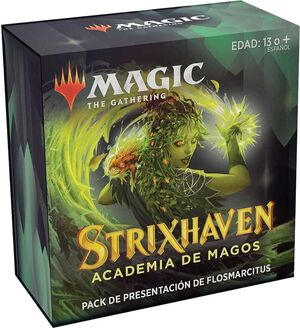 MAGIC - STRIXHAVEN PACK DE PRESENTACIÓN FLOSMARCITUS + 3 BOOSTER
