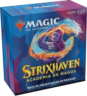 MAGIC - STRIXHAVEN PACK DE PRESENTACIÓN PRISMARI + 3 BOOSTER