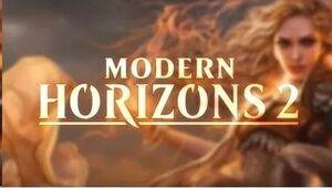 MAGIC - HORIZONTES DE MODERN II SOBRE DE COLECCIONISTA EN INGLES